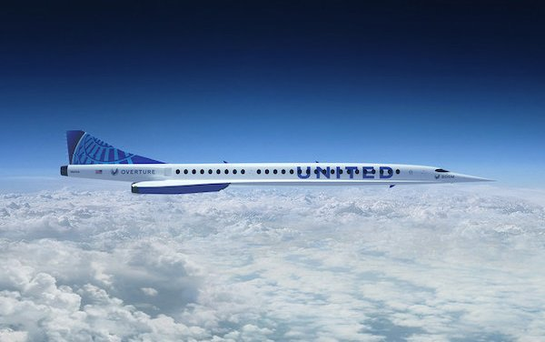 United Airlines to sign commercial agreement with Boom Supersonic