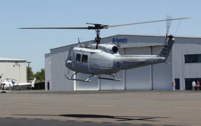 Unmanned UH-1H helicopter in the works