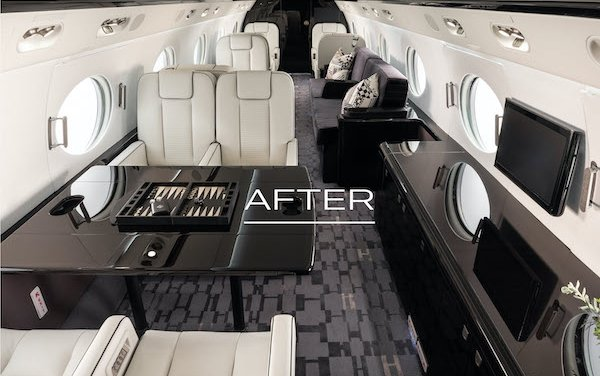 Updated spectrum of interior upgrades and dedicated designer services for Gulfstream owners