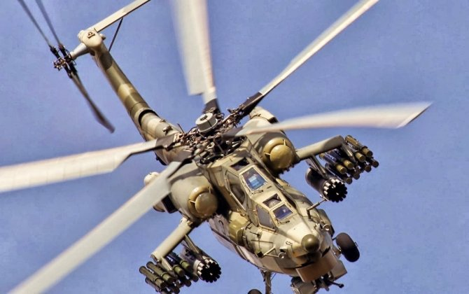 Upgraded Mi-28NM attack helicopter started undergoing flight tests
