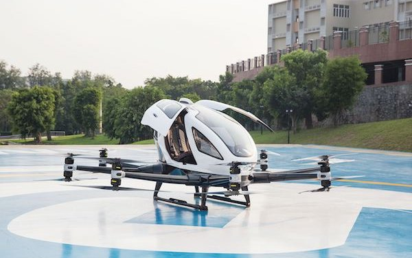 Urban Air Mobility: FACC and EHang develop new solutions for autonomous flying