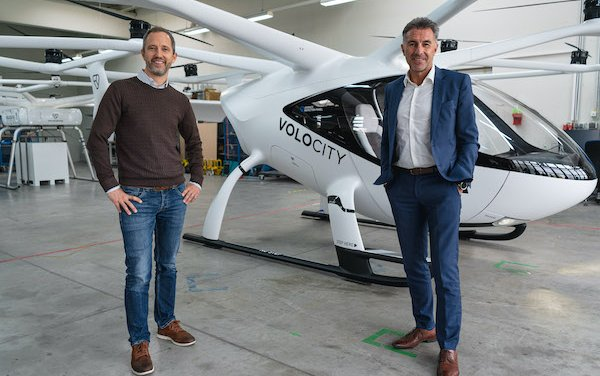Urban Air Mobility Software Platform - Volocopter & Lufthansa Industry Solutions