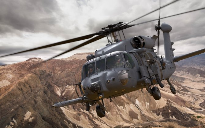 U.S. Air Force Combat Rescue Helicopter Reaches Milestone, Paving Way for Assembly, Test and Evaluation