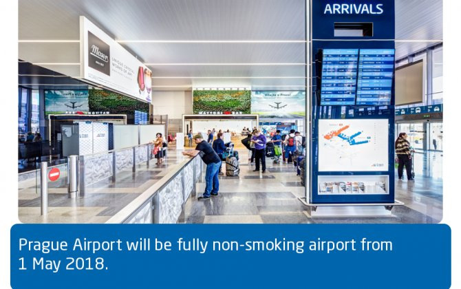 Václav Havel Airport Prague To Become a Non-smoking Airport