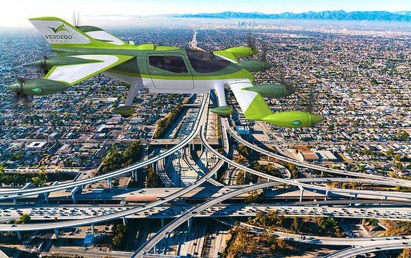 VerdeGo Aero announces powertrain and eVTOL control systems to advance $30B Urban Air Mobility market