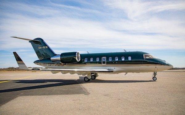 Versatility for medevac use: Jetflite Challenger 650 aircraft