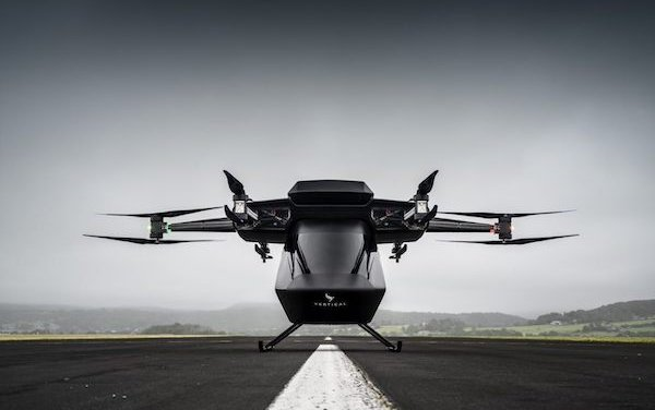 Vertical Aerospace Seraph eVTOL aircraft with Dassault Systèmes' 3DEXPERIENCE cloud