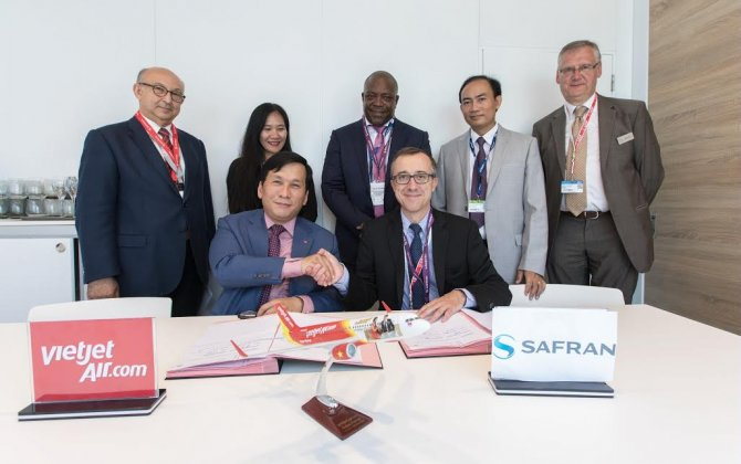 VietJet Air and Safran sign SFCO2® service agreement