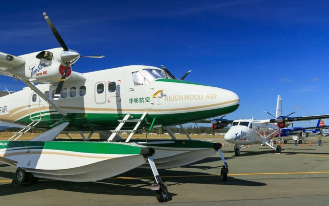 Viking Series 400 Twin Otter Receives Float Certification in China