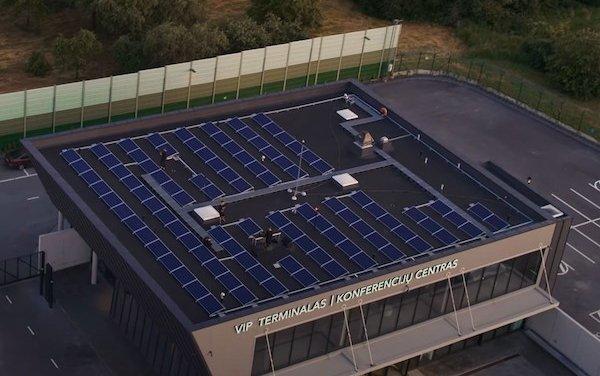 Vilnius Airport environmental solutions