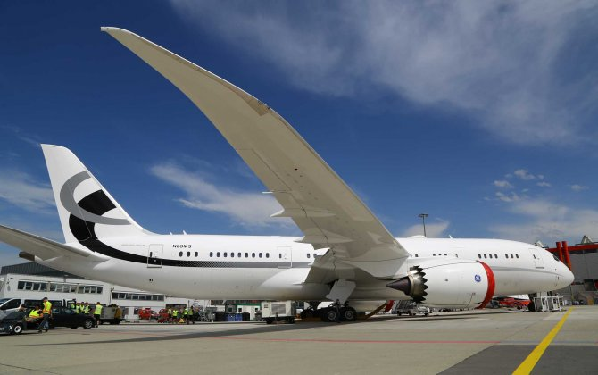 VIP Boeing 787-8 Takes Center Stage at EBACE