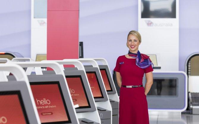 Virgin Australia's Convertible Check-In Desks Do Both DIY and Full-Service
