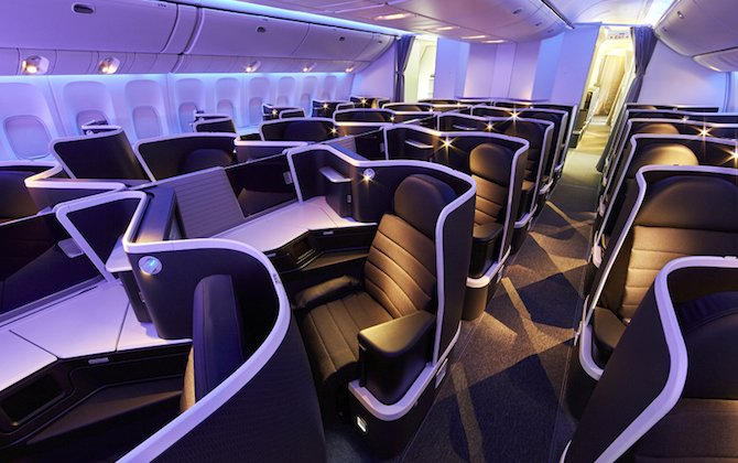Virgin Australia's new 777 premium seats enter service