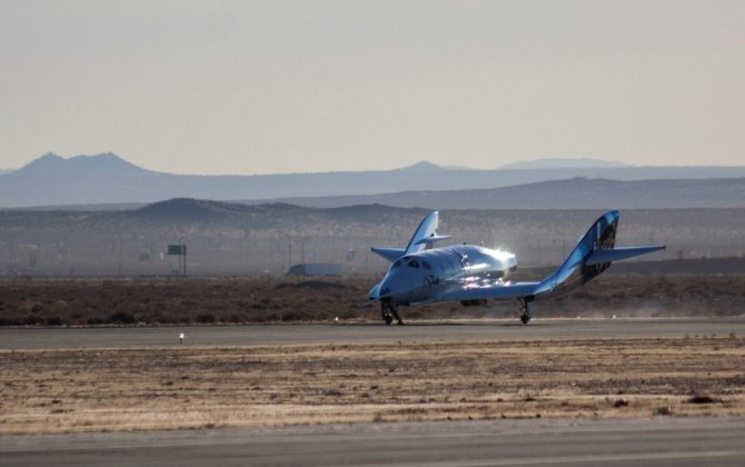 Virgin Galactic spaceship makes successful first glide flight