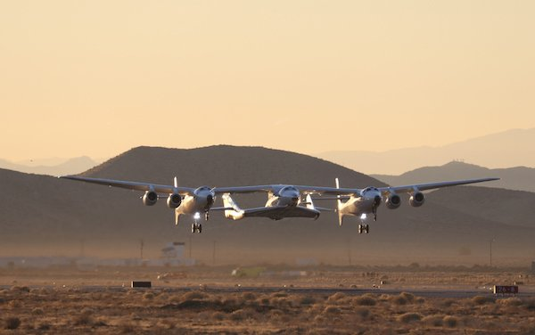 Virgin Galactic's Historic First Spaceflight