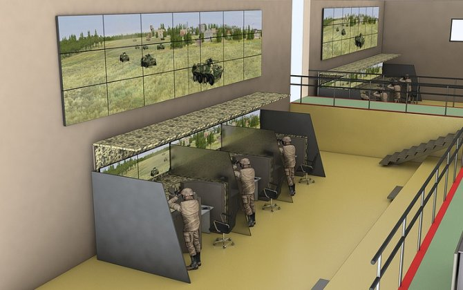 Virtual battlefield for robots and drones developed in Russia