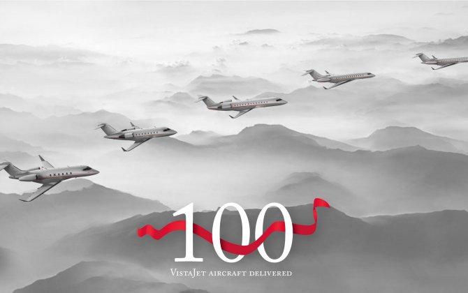 VistaJet passes 100th aircraft milestone