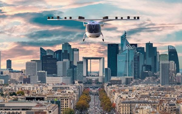 Volocopter flies at Paris Air Forum