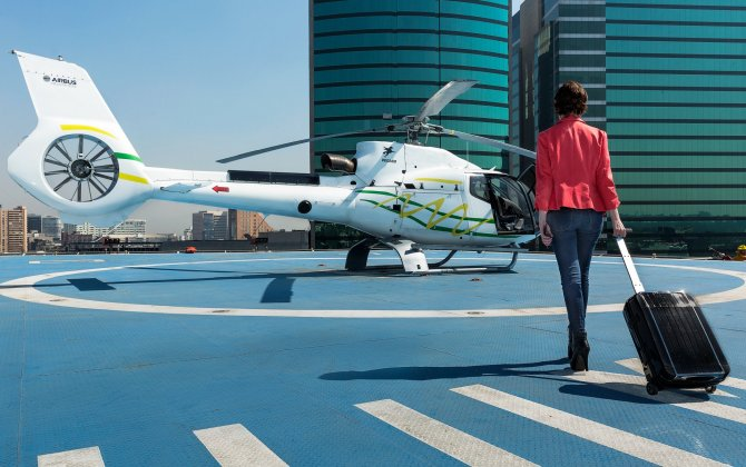 Voom's helicopter commuting service launches in Mexico City