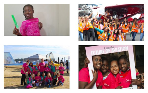 WAI Chapters and corporate members take Girls in Aviation Day 2021 back to in-person events