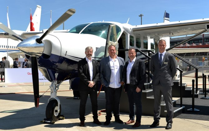 Waves Technologies selects Cessna Grand Caravan EX to launch new UK-based air taxi service