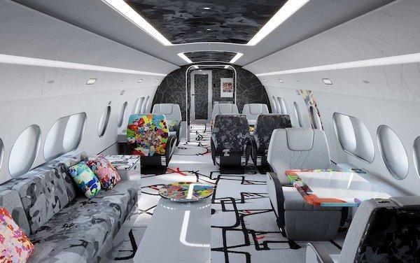 Welcome a special ACJ TwoTwenty cabin edition