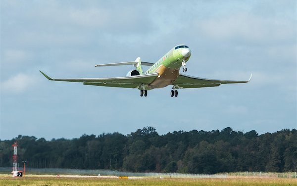 Welcome another Gulfstream G700 test aircraft