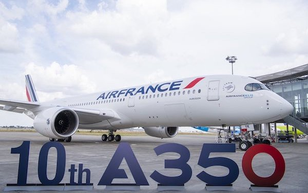 Welcome Aubusson - the 10th Airbus A350 of Air France
