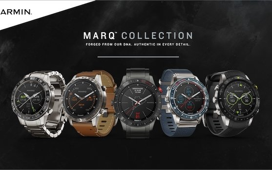 Welcome Garmin® MARQ series: a collection of lifestyle inspired smart tool watches