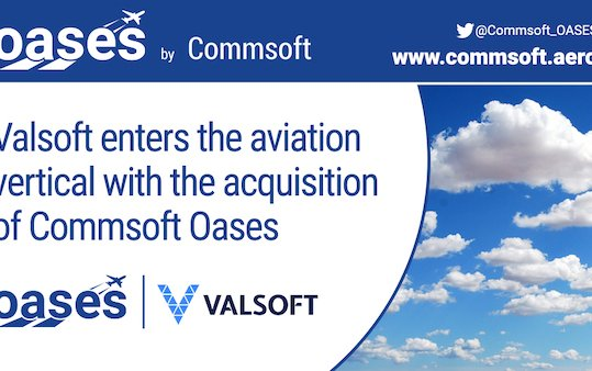 Welcome to aviation - Valsoft acquired Commsoft OASES