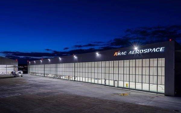Welcome to Hangar N 5 - AMAC Aerospace new hangar is operational