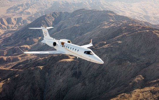 Welcome to service - Learjet 75 Liberty light jet