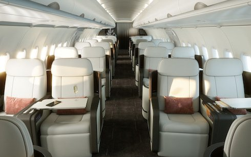 Welcome to the new Four Seasons Private Jet