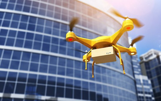 What commercial drone market will be worth
