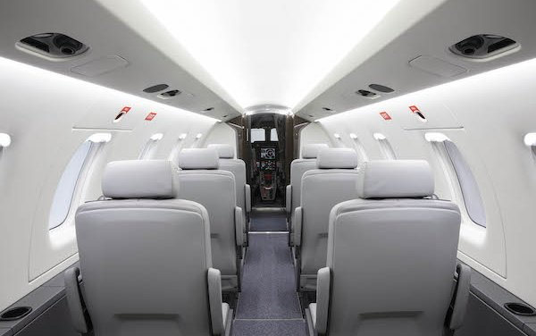 Widest mission profiles - PC-24 With 10-seat commuter interior