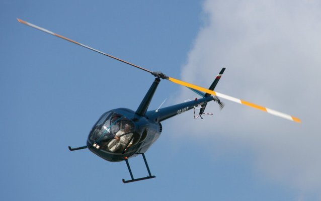 With FAA Papers in Hand, R44 Cadet Now Ready for Duty