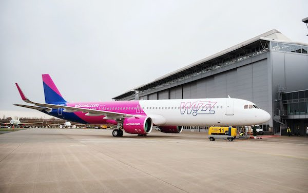 Wizz Air selected Pratt & Whitney GTF engines to power an additional 166 Airbus A320neo