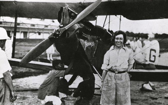 women in aviation and space history