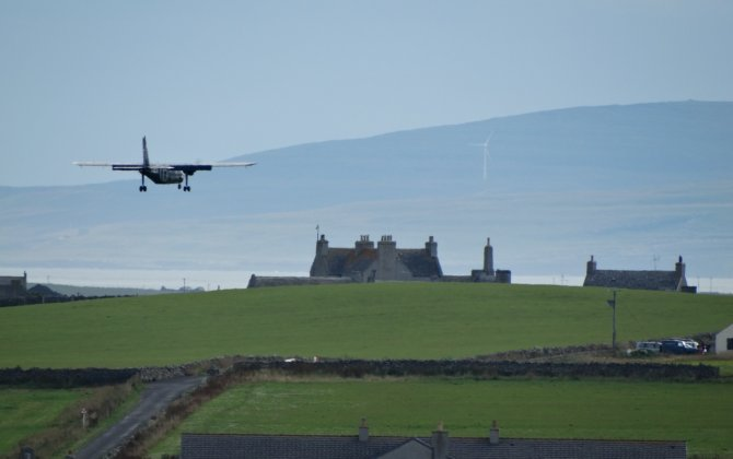 World's Shortest Commercial Flights: Westray-Papa Westray by Loganair