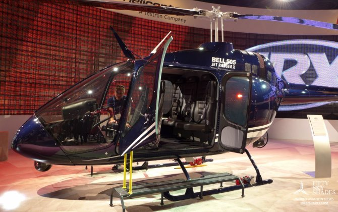 Yuhi Airlines in  Japan signs for Bell 505 Jet Ranger X