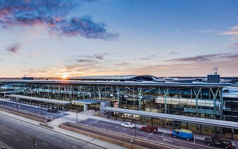 YYC Calgary International Airport - High-tech, low-carbon concrete project