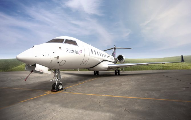Zetta Jet grows fleet with Bombardier Global 6000 Jet featuring industry leading passenger amenities