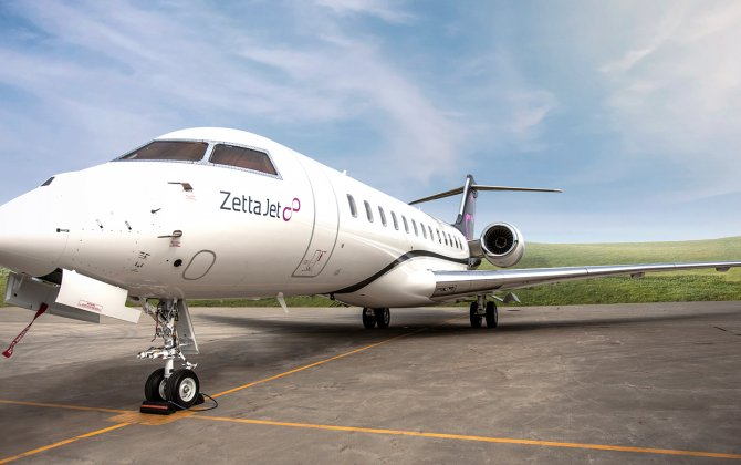 Zetta Jet Takes Delivery of Another Global 6000 Business Jet