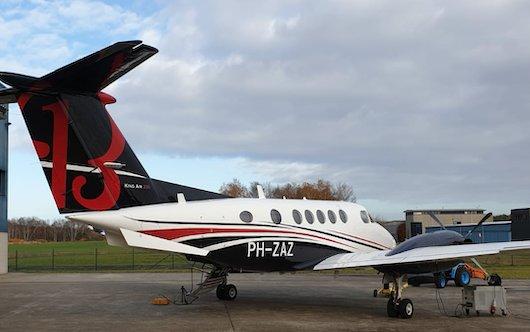 Zeusch Aviation Beechcraft B200 Super King Air joins The Netherlands registry