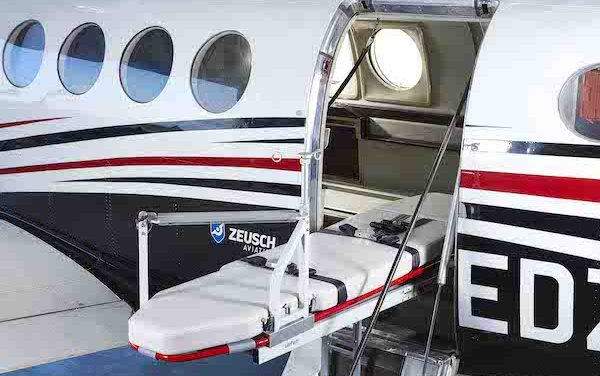 Zeusch Aviation launches medevac operations in Spain with King Air B200