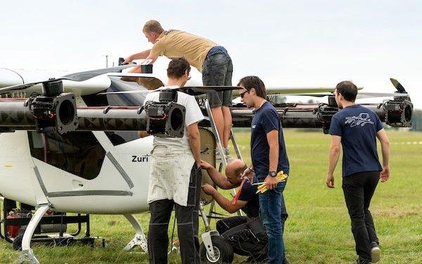 ZURI VTOL demonstrator starts its tests at the airport