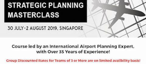 Airport Strategic Planning Masterclass 2019