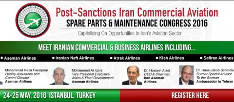 Iran Commercial Aviation & Spare Parts Maintenance Congress 2016