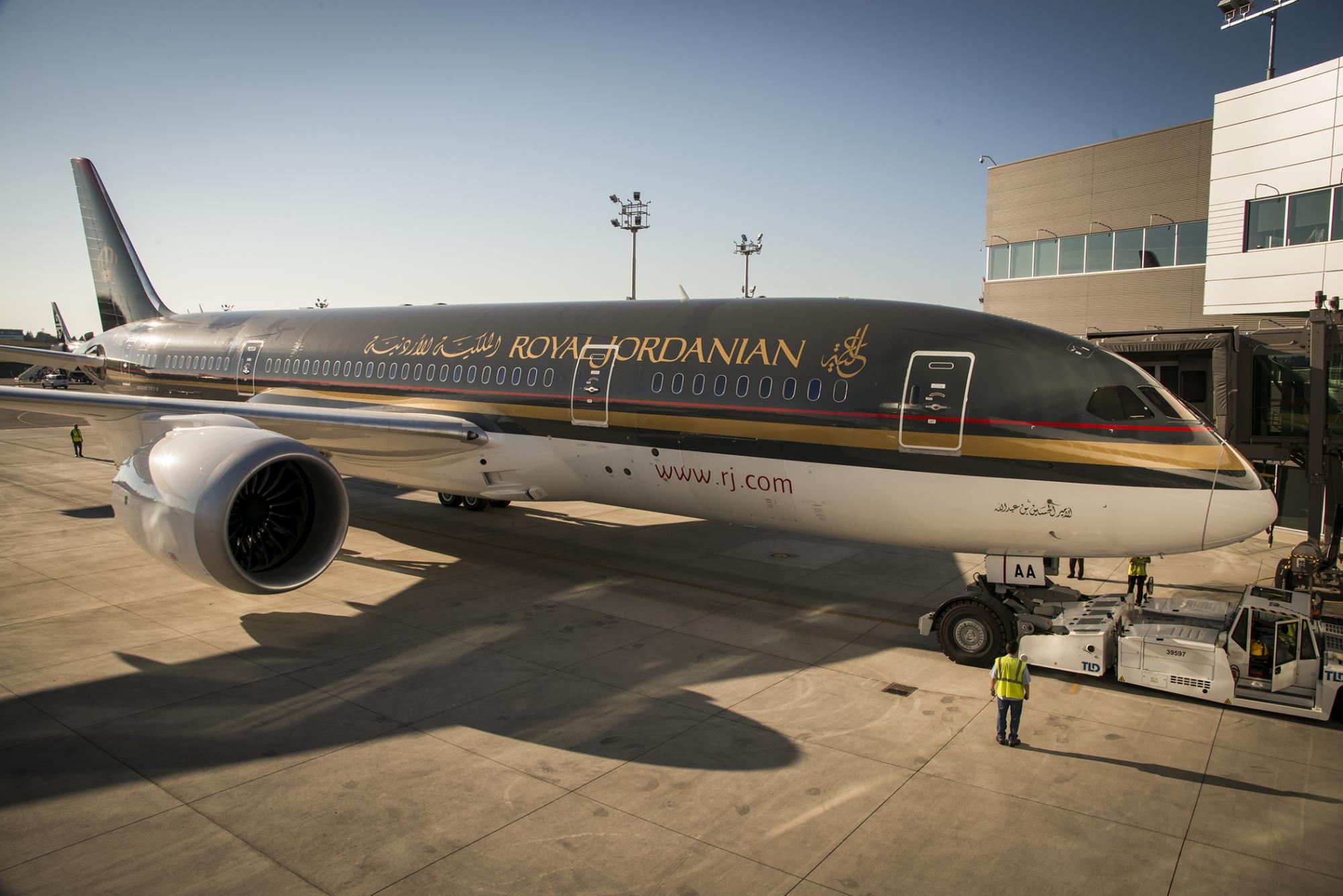 royal jordanian airlines swot