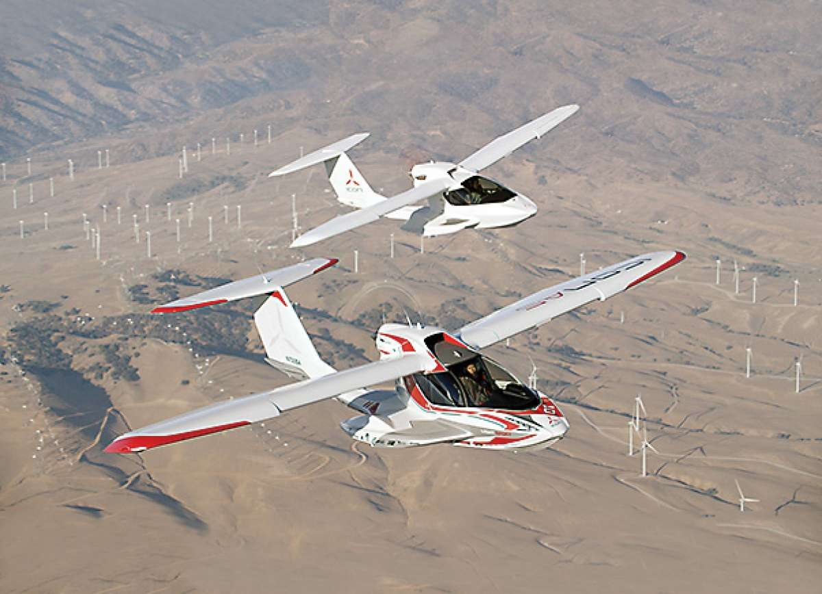 Icon A5 Flying The Icon A5 Is ...